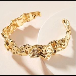 Emery bracelet cuff by Amber Sceats Gold tone new